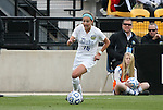 04 December 2011: Duke's Laura Weinberg. The Stanford University Cardinal defeated the Duke University Blue Devils 1-0 at KSU Soccer Stadium in Kennesaw, Georgia in the NCAA Division I Women's Soccer College Cup Final.