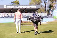 Jens Danthorp (SWE) during the third round of the Mutuactivos Open de Espana, Club de Campo Villa de Madrid, Madrid, Madrid, Spain. 05/10/2019.<br /> Picture Hugo Alcalde / Golffile.ie<br /> <br /> All photo usage must carry mandatory copyright credit (© Golffile | Hugo Alcalde)