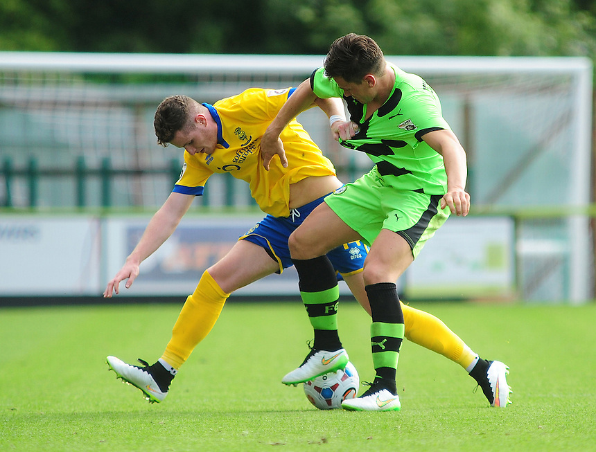 Photographer Andrew Vaughan/CameraSport<br /> <br /> Football - Vanarama National League - Forest Green Rovers v Lincoln - Saturday 22nd August 2015 - The New Lawn - Nailsworth<br /> <br /> &copy; CameraSport - 43 Linden Ave. Countesthorpe. Leicester. England. LE8 5PG - Tel: +44 (0) 116 277 4147 - admin@camerasport.com - www.camerasport.com