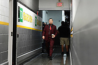 June 6, 2019: Boston Bruins left wing Brad Marchand (63) makes his way to the locker room before game 5 of the NHL Stanley Cup Finals between the St Louis Blues and the Boston Bruins held at TD Garden, in Boston, Mass. Eric Canha/CSM