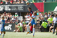 Portland, OR - Saturday August 05, 2017: Meghan Klingenberg during a regular season National Women's Soccer League (NWSL) match between the Portland Thorns FC and the Houston Dash at Providence Park.