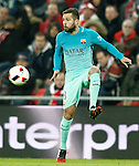FC Barcelona's Jordi Alba during Spanish Kings Cup match. January 05,2017. (ALTERPHOTOS/Acero)