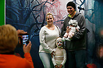 Grandma Suzi Maccarty takes photos of, from left, Sara, Pat, Marlee and Jaxson Duncan during the Boo-nanza event at the Carson City Library, in Carson City, Nev., on Tuesday, Oct. 30, 2018. <br /> Photo by Cathleen Allison/Nevada Momentum