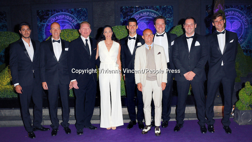 Wimbledon Champions Dinner at the Royal Opera House, Covent Garden, London on July 6th 2014<br /> <br /> Photo by Vivienne Vincent