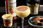 Expert bartenders have whipped up an indulgent new Christmassy cocktail - which is made using custard.<br /> While the creamy sauce is better known for being dolloped on apple pie than served in alcohol, custard cocktails are set to become the latest trend in dessert tipples this winter. <br /> The rich, velvety 'Queen Raffald' cocktail is made using custard brand Ambrosia's Deluxe Custard Vanilla with Clotted Cream blended with rum and gingerbread liqueur.<br /> Ambrosia teamed up with vintage style London brasserie and cocktail bar Mews of Mayfair to serve up the inventive new beverage to mark the first day of the Taste of London Winter festival 2017, a food and drink celebration held in Regent Park. <br /> SEE COPY FOR DETAILS<br /> &copy; Solent News &amp; Photo Agency<br /> UK +44 (0) 2380 458800