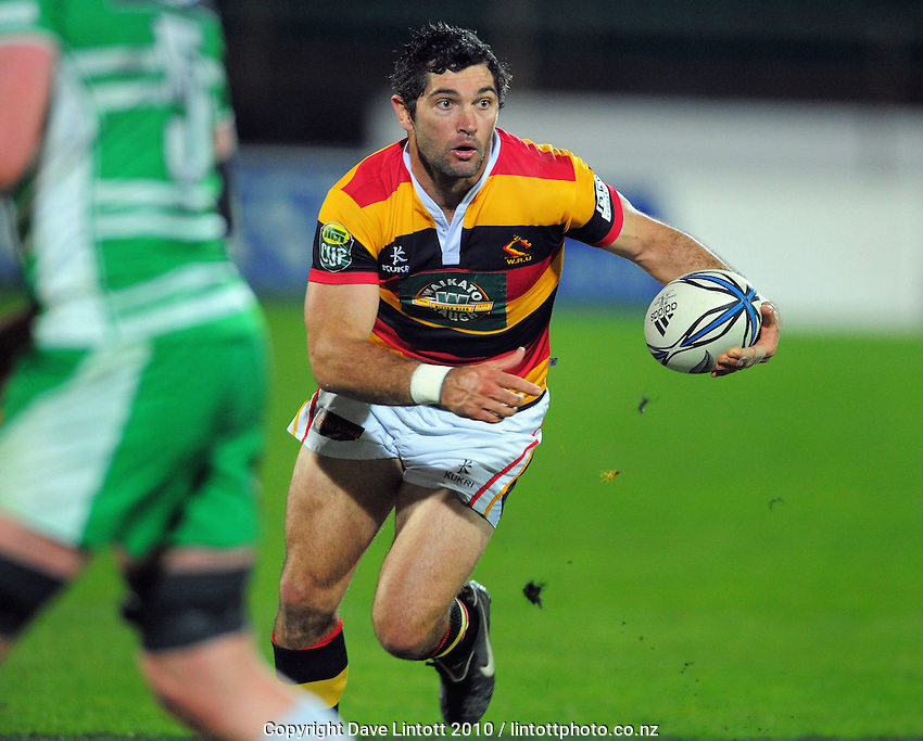 Waikato's Stephen Donald. ITM Cup rugby - Manawatu Turbos v Waikato at FMG Stadium, Palmerston North, New Zealand on Thursday, 14 October 2010. Photo: Dave Lintott / lintottphoto.co.nz