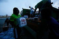 UK aid is reaching people who have lost everything after the devastating Hurricane Irma hit the British Virgin Island of Tortola in the Caribbean.<br /> <br /> Over 6 tonnes of aid have been delivered to the island in the last 48 hours, including 1 tonne of food, water and shelter material which arrived this afternoon via a UK-chartered flight from Antigua, and was distributed within hours to a vulnerable group of families who are still sheltering in a school a week after the hurricane hit.