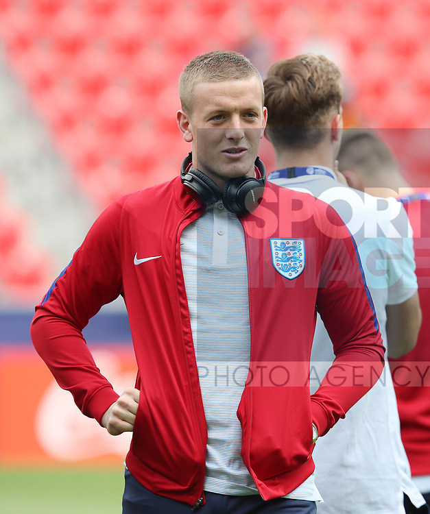 England's Jordan Pickford in action during the UEFA Under 21 Semi Final at the Stadion Miejski Tychy in Tychy. Picture date 27th June 2017. Picture credit should read: David Klein/Sportimage