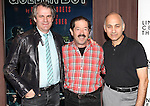 Director Bartlett Sher and actors Jonathan Hadary and Ned Eisenberg attending the Meet & Greet for the Lincoln Center Theater's 75th Anniversary Production of 'Golden Boy' at their Rehearsal Studios on 10/25/2012 in New York.