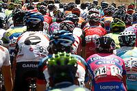 The peloton during the stage of La Vuelta 2012 beetwen Penafiel-La Lastrilla.September 7,2012. (ALTERPHOTOS/Paola Otero) /NortePhoto.com<br /> <br /> **CREDITO*OBLIGATORIO** *No*Venta*A*Terceros*<br /> *No*Sale*So*third* ***No*Se*Permite*Hacer Archivo***No*Sale*So*third
