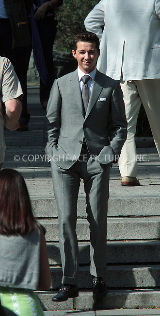 WWW.ACEPIXS.COM . . . . .  ....October 7 2009, New York City....Actor Shia LeBeouf was on the Central Park Zoo set of the new movie 'Wall Street 2' on October 7 2009 in New York City....Please byline: AJ Sokalner - ACEPIXS.COM..... *** ***..Ace Pictures, Inc:  ..tel: (212) 243 8787..e-mail: info@acepixs.com..web: http://www.acepixs.com