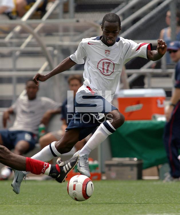 DeMarcus Beasley.USA vs Grenada WC qualifyer in Columbus Ohio. USA-3/Grenada-0