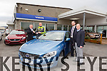 Volvo Sports Ambassador for Billy Naughton Kerry footballers Kieran 'Star' Donaghy was presented with the keys of the a new Volvo on Saturday. Pictured Billy Naughton,MD, Kieran Donaghy, Barry Ryan, Sales executive,  Jimmy O'Sullivan, sales manager