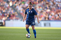 Sandy, Utah - Thursday June 07, 2018: Savannah McCaskill during an international friendly match between the women's national teams of the United States (USA) and China PR (CHN) at Rio Tinto Stadium.