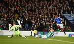 08.11.2019 League Cup Final, Rangers v Celtic: Alfredo Morelos shoots