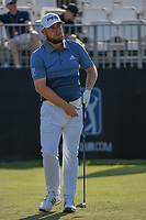 Tyrrell Hatton (ENG) watches his tee shot on 1 during round 1 of the Arnold Palmer Invitational at Bay Hill Golf Club, Bay Hill, Florida. 3/7/2019.<br /> Picture: Golffile | Ken Murray<br /> <br /> <br /> All photo usage must carry mandatory copyright credit (&copy; Golffile | Ken Murray)