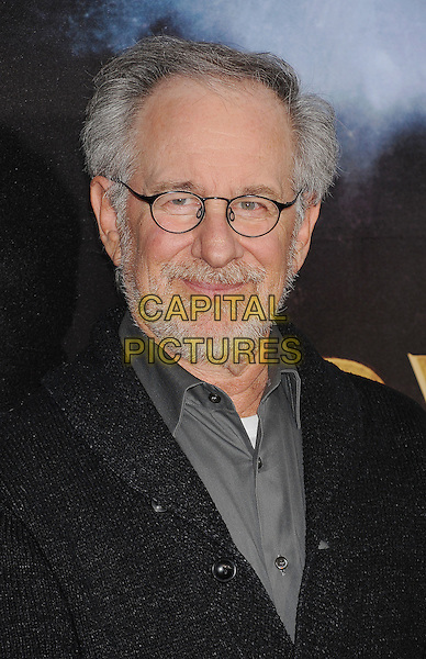 "Steven Spielberg.The world premiere of ""Cowboys & Aliens"" at the San Diego Civic Theatre in San Diego, California, USA..July 23rd, 2011.headshot portrait beard facial hair black grey gray glasses .CAP/ROT/TM.©Tony Michaels/Roth Stock/Capital Pictures"