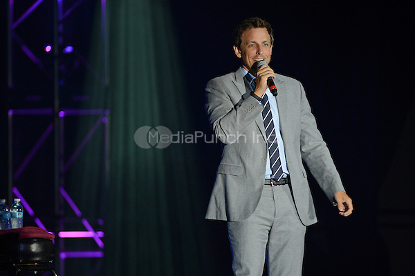 COCONUT CREEK, FL - JULY 19 :  Seth Meyers performs at the Seminole Coconut Creek Casino on July 19, 2012 in Coconut Creek , Florida. ©mpi04/MediaPunch Inc