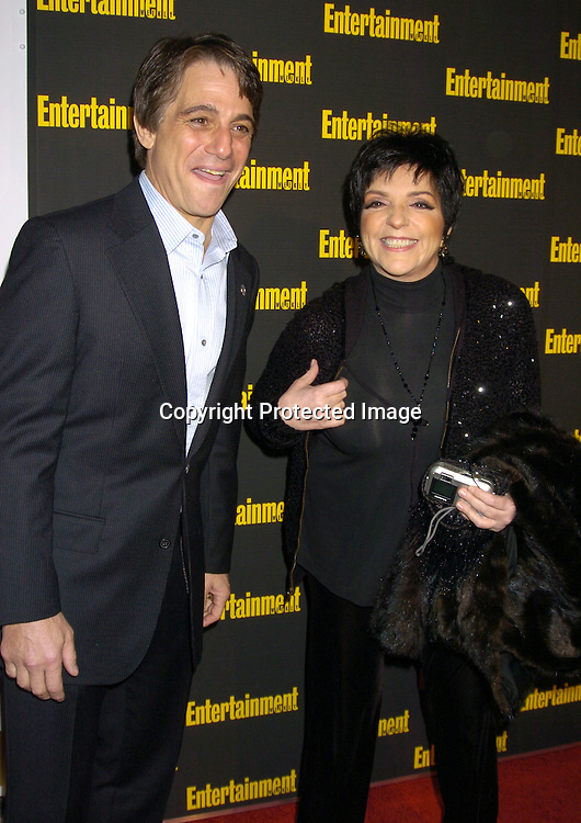 Tony Danza and Liza Minnelli ..at the 11th Annual Entertainment Weekly Oscar Party on ..Februaty 27, 2005 at Elaine's in New York City. ..Photo by Robin Platzer, Twin Images
