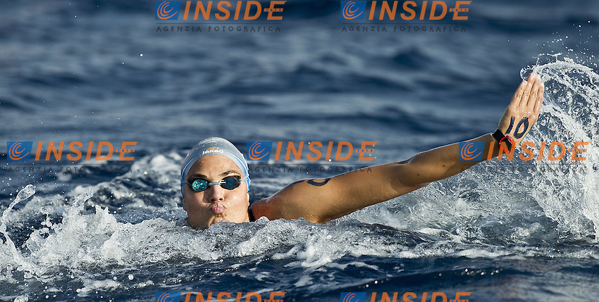 EILAT, Israel (ISR) 06 - 11 September 2011.European Open Water Swimming Championships.day 04.25 KM Women.Martina Grimaldi ITA.She was given red card when she was leading 2 laps from the finish.Photo Insidefoto Giorgio Scala