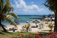 MUS, Mauritius, Hotel Le Cannonier: Strand | MUS, Mauritius, Hotel Le Cannonier: beach