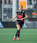 AMSTELVEEN - Elsemiek Groen (Adam)   tijdens de hoofdklasse hockeywedstrijd dames,  Amsterdam-Oranje Rood (2-2) .   COPYRIGHT KOEN SUYK