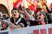 Roma 25-03-2017. Manifestazione Euro stop, No all'Unione Europea delle banche. <br /> Rome March 25th 2017. Demonstration against European Union of the banks, titled Euro stop.<br /> Foto Samantha Zucchi Insidefoto