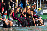 Start <br /> Women's 10Km <br /> Open Water Swimming Balatonfured<br /> Day 03  16/07/2017 <br /> XVII FINA World Championships Aquatics<br /> Lake Balaton Budapest Hungary  <br /> Photo Andrea Staccioli/Deepbluemedia/Insidefoto