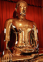 The golden Buddha. Bangkok, Thailand