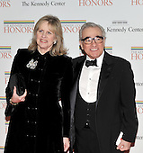 Washington, DC - December 5, 2009 -- Mr. and Mrs. Martin Scorsese arrive for the formal Artist's Dinner at the United States Department of State in Washington, D.C. on Saturday, December 5, 2009..Credit: Ron Sachs / CNP.(RESTRICTION: NO New York or New Jersey Newspapers or newspapers within a 75 mile radius of New York City)