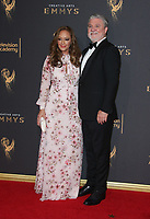 LOS ANGELES, CA - SEPTEMBER 09: Leah Remini, Mike Rinder, at the 2017 Creative Arts Emmy Awards at Microsoft Theater on September 9, 2017 in Los Angeles, California. <br /> CAP/MPIFS<br /> &copy;MPIFS/Capital Pictures