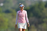 PATTAYA, THAILAND - FEBRUARY 22: Nelly Korda of USA on the 2nd green during the second round of the Honda LPGA Thailand 2019 at Siam Country Club Pattaya (Old Course), Pattaya, Thailand on February 22, 2019.<br /> .<br /> .<br /> .<br /> (Photo by: Naratip Golf Srisupab/SEALs Sports Images)<br /> .<br /> Any image use must include a mandatory credit line adjacent to the content which should read: Naratip Golf Srisupab/SEALs Sports Images