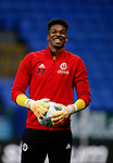 Jamal Blackman of Sheffield Utd during the Championship match at the Macron Stadium, Bolton. Picture date 12th September 2017. Picture credit should read: Simon Bellis/Sportimage