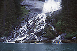 Tongass National Forest, Ford's Terror, sea kayaks, waterfall