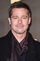 "Brad Pitt<br /> at the ""Allied"" UK premiere, Odeon Leicester Square, London.<br /> <br /> <br /> ©Ash Knotek  D3202  21/11/2016"