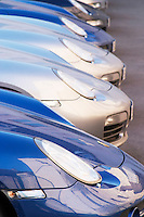 porsche cars in the parking lot of hotel le cep beaune cote de beaune burgundy france