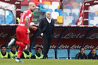 Serse Cosmi coach of Perugia<br /> Napoli 14-01-2020 Stadio San Paolo <br /> Football Italy Cup 2019/2020 SSC Napoli - AC Perugia<br /> Photo Cesare Purini / Insidefoto