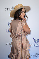 www.acepixs.com<br /> <br /> January 28 2017, Hallandale, FL<br /> <br /> Vanessa Hudgens arriving at the Pegasus World Cup at Gulfstream Park on January 28, 2017 in Hallandale, Florida.<br /> <br /> By Line: Solar/ACE Pictures<br /> <br /> ACE Pictures Inc<br /> Tel: 6467670430<br /> Email: info@acepixs.com<br /> www.acepixs.com