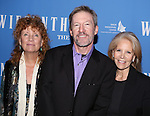 Director Jenny Sullivan, Tom Dugan and producer Daryl Roth attends the 'Wiesenthal' Press Presentation at the Acorn Theatre on October 20, 2014 in New York City.