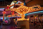 Historic neon signs, Fremont Street Neon Museum, Las Vegas, Nev..(Alladan's lamp)