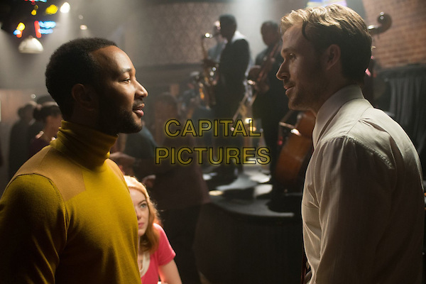 La La Land (2016)<br /> John Legend, Emma Stone, Ryan Gosling<br /> *Filmstill - Editorial Use Only*<br /> CAP/FB<br /> Image supplied by Capital Pictures