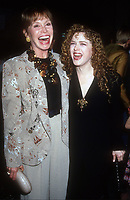 Mary Tyler Moore, Bernadette Peters, 1991, Photo By Michael Ferguson/PHOTOlink