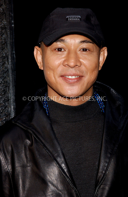 WWW.ACEPIXS.COM . . . . . ....NEW YORK, NEW YORK, MAY 5TH 2005....Jet Li at the premier of his new movie 'Unleashed' held at the Lowes 19th Street.....Please byline: KRISTIN CALLAHAN - ACE PICTURES.. . . . . . ..Ace Pictures, Inc:  ..Craig Ashby (212) 243-8787..e-mail: picturedesk@acepixs.com..web: http://www.acepixs.com