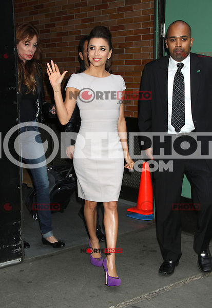 May 08, 2012 Eva Longoria  at Good Morning America to talk about the final days of Desperate Housewives in New York City. Credit: RW/MediaPunch Inc.