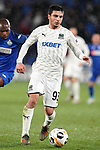 FC Krasnodar's Magomed Suleymanov during UEFA Europa League match. December 12,2019. (ALTERPHOTOS/Acero)