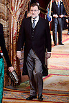 President Mariano Rajoy during the Military Easter at Royal Palace in Madrid, Spain. January 06, 2017. (ALTERPHOTOS/BorjaB.Hojas)