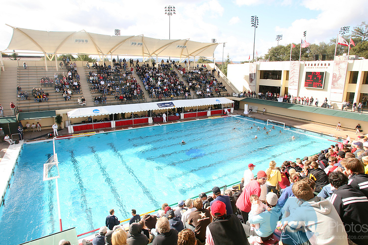 01 DEC 2007:  USC takes on Loyola Marymount University during the Division I Men's Water Polo Semifinals held at the Avery Aquatic Center on the Stanford University campus in Palo Alto, CA.  USC defeated Loyola Marymount 8-4 to advance to the national title game.  Jamie Schwaberow/NCAA Photos