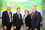 Meath County Manager Tom Dowling, Minister Noel Dempsey, Drogheda Town Clerk Joan Martin and Paul Keely from Failte Ireland at the Launch of the New Boyne Valley Tourism Initiative at Oldbridge House...(Photo credit should read Jenny Matthews www.newsfile.ie)....This Picture has been sent you under the condtions enclosed by:.Newsfile Ltd..The Studio,.Millmount Abbey,.Drogheda,.Co Meath..Ireland..Tel: +353(0)41-9871240.Fax: +353(0)41-9871260.GSM: +353(0)86-2500958.email: pictures@newsfile.ie.www.newsfile.ie.