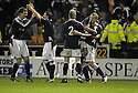 11/02/2008    Copyright Pic: James Stewart.File Name : sct_jspa14_motherwell_v_dundee.SCOTT ROBERTSON (RIGHT) IS CONGRATULATED AFTER HE SCORES DUNDEE'S SECOND.James Stewart Photo Agency 19 Carronlea Drive, Falkirk. FK2 8DN      Vat Reg No. 607 6932 25.Studio      : +44 (0)1324 611191 .Mobile      : +44 (0)7721 416997.E-mail  :  jim@jspa.co.uk.If you require further information then contact Jim Stewart on any of the numbers above........