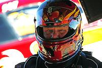 Apr. 1, 2011; Las Vegas, NV, USA: NHRA funny car driver Gary Densham during qualifying for the Summitracing.com Nationals at The Strip in Las Vegas. Mandatory Credit: Mark J. Rebilas-